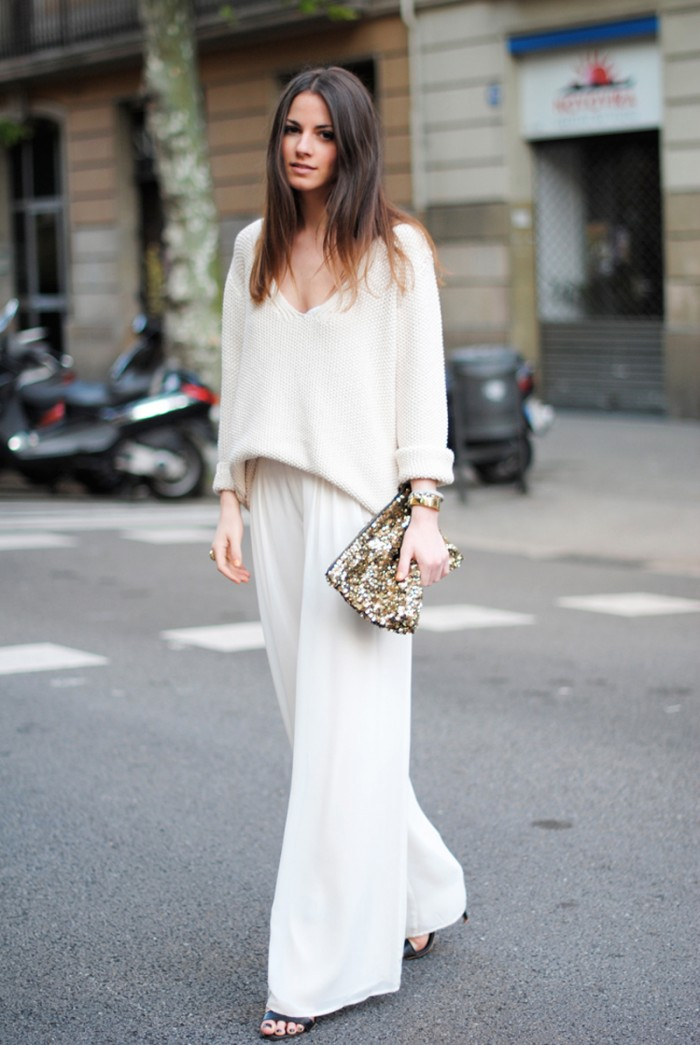 Total look white
