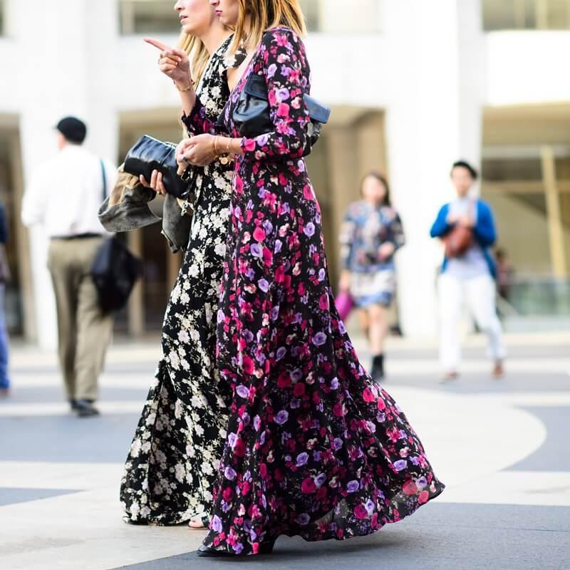 Vestidos flores tendencia