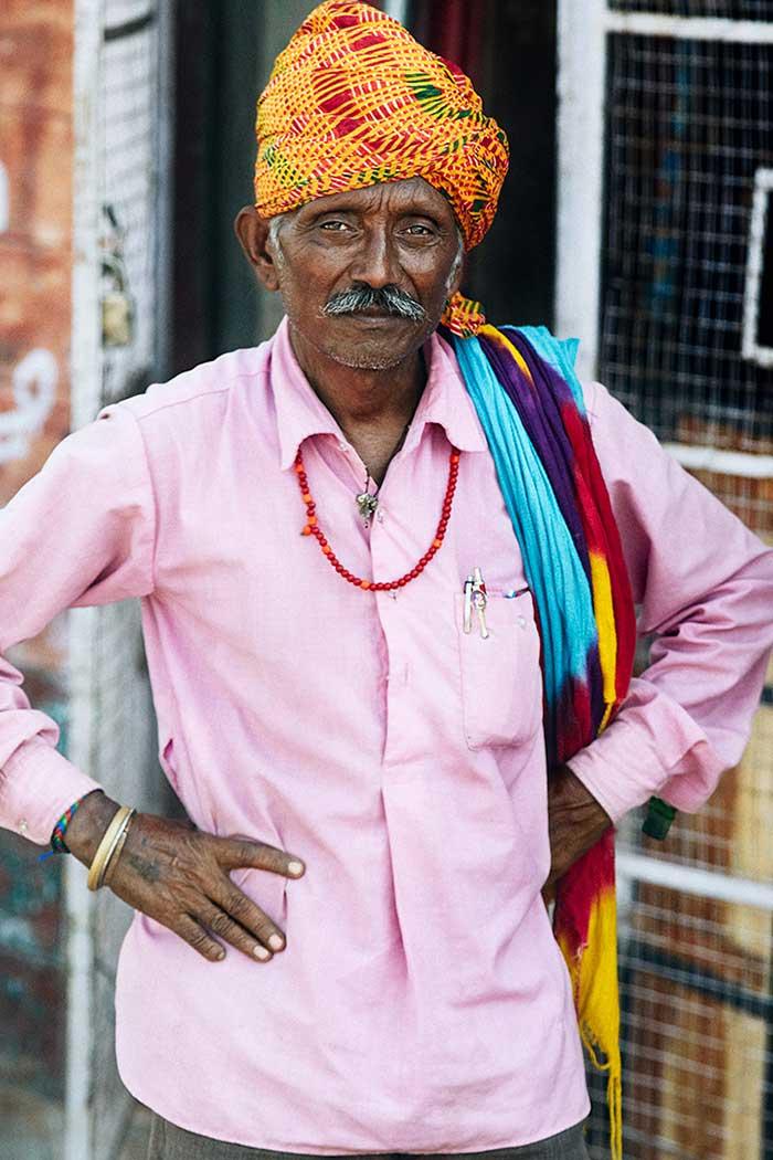 Indio con turbante