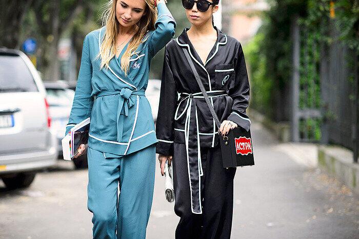 Con el pijama a la calle
