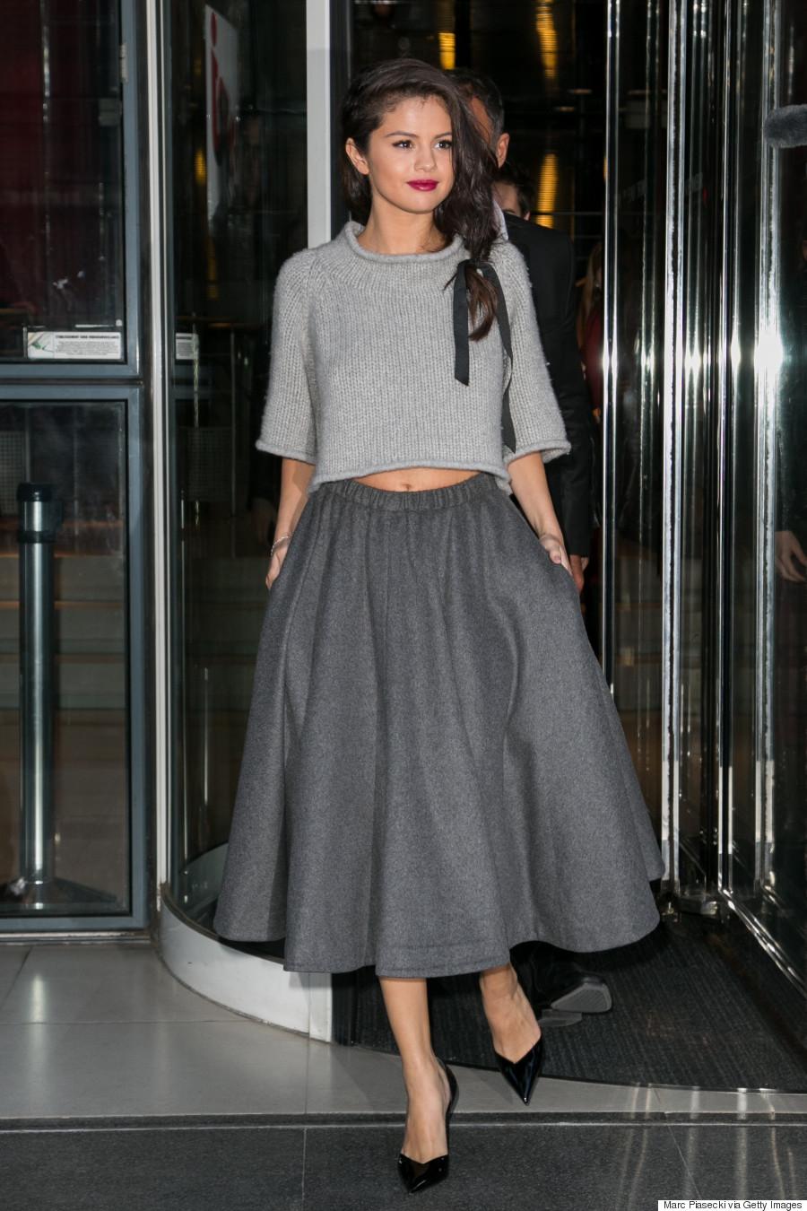 Selena Gomez Sighting In Paris  -  September 28, 2015