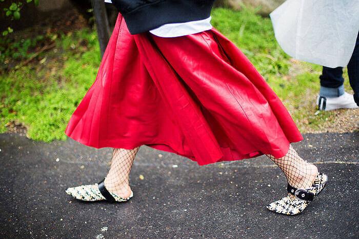 Calzado estiloso y plano