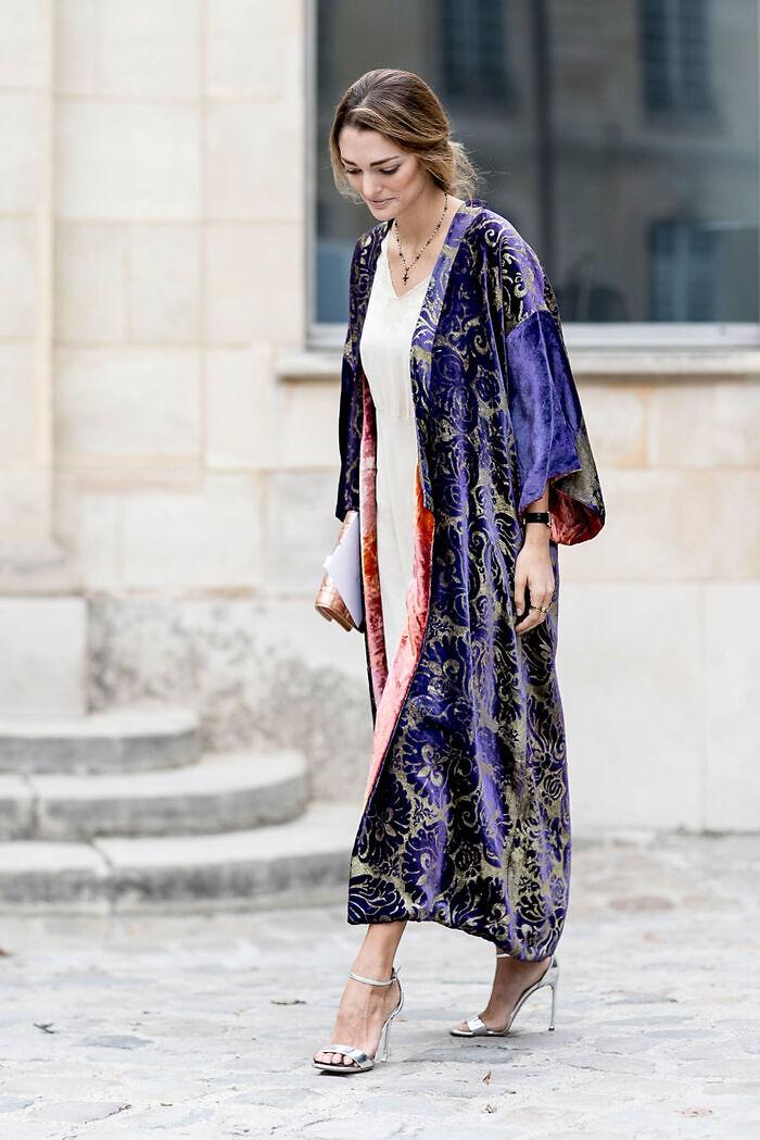 Kimono terciopelo