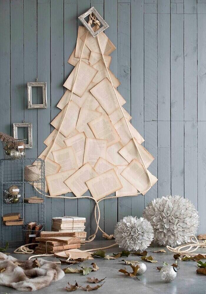Arbol Navidad de papel