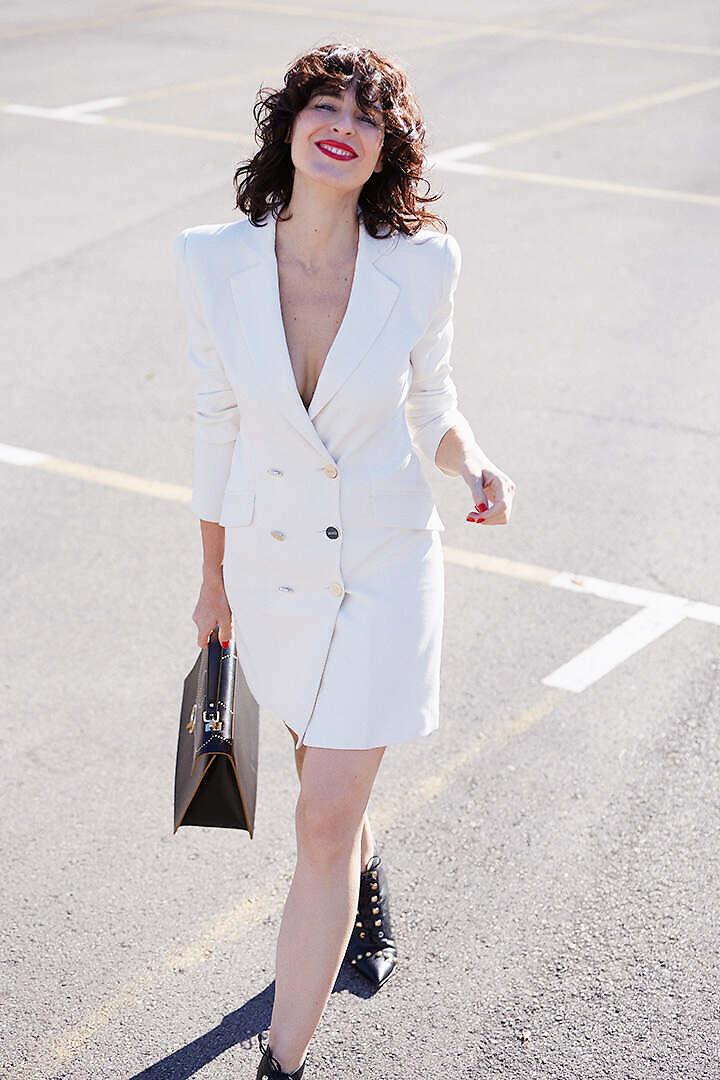 Vestido tipo chaqueta Liu Jo