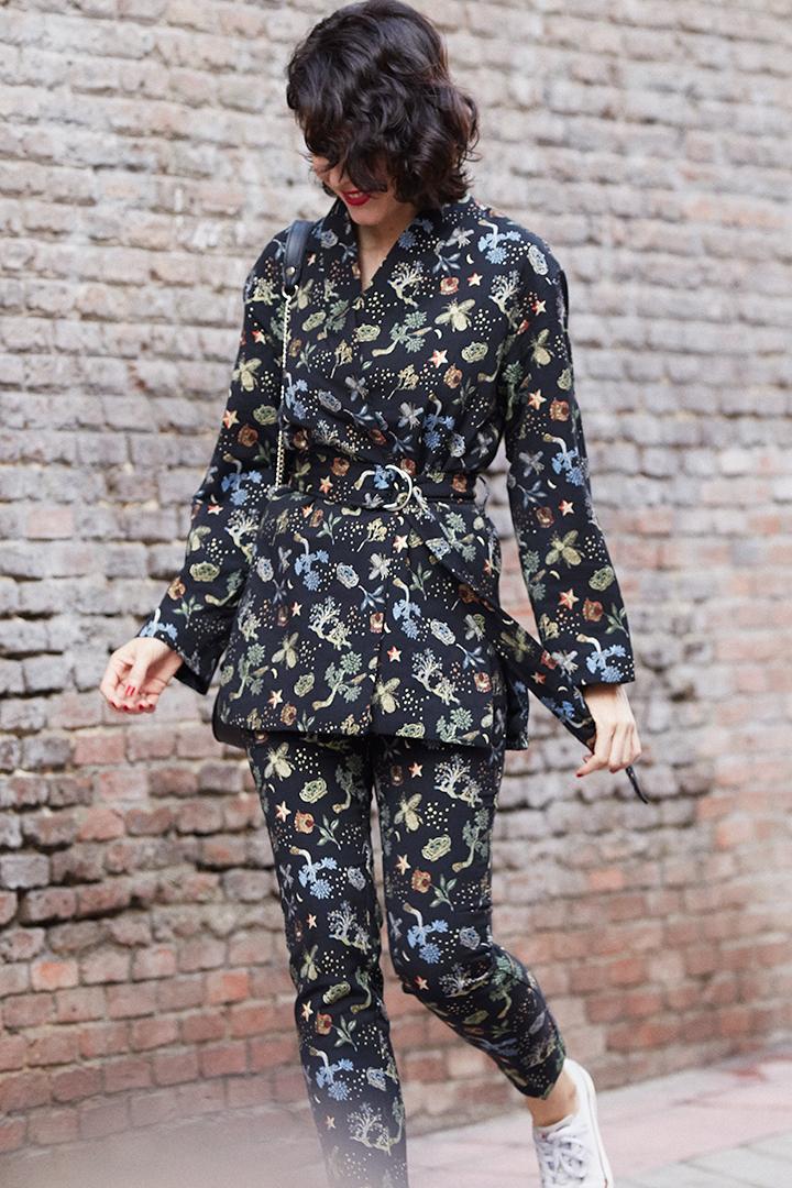 Traje-kimono