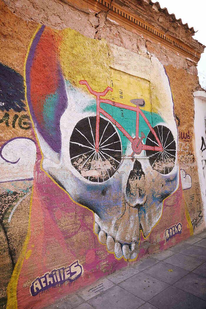 Grafitis Atenas