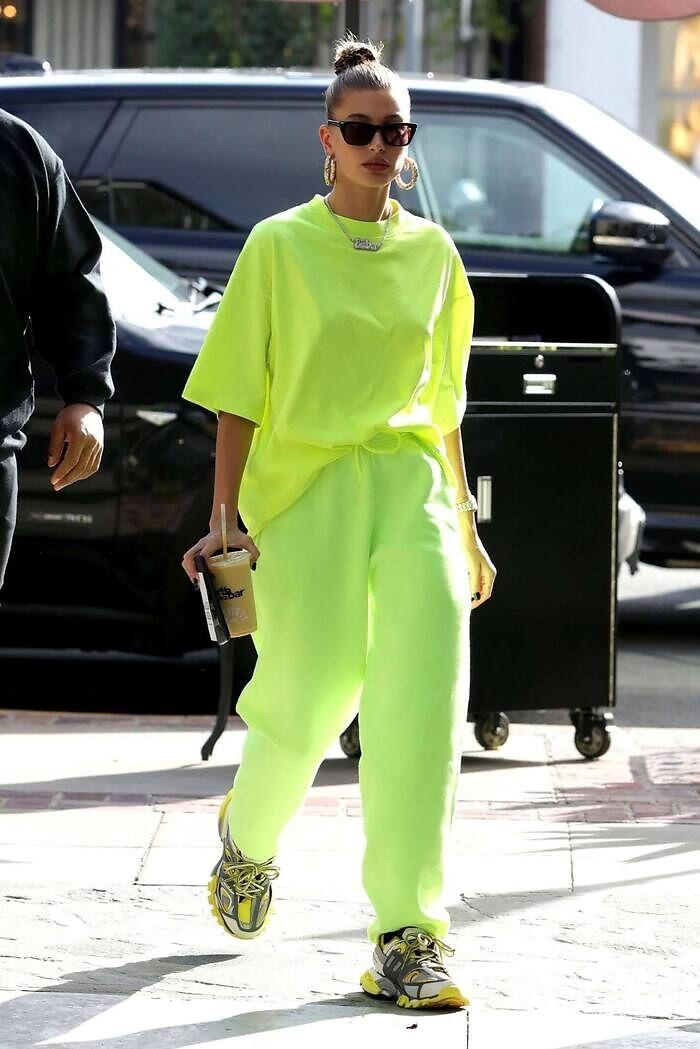 Look verde fosforito