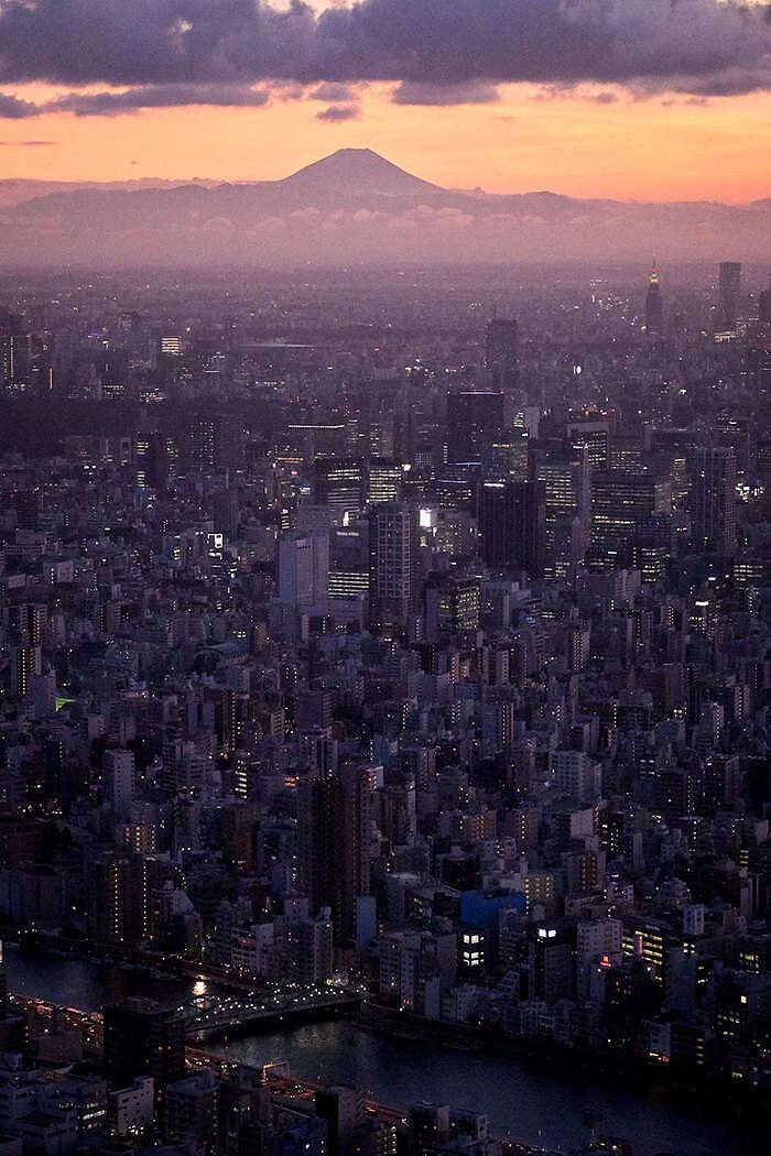 Tokio y Monte Fuji