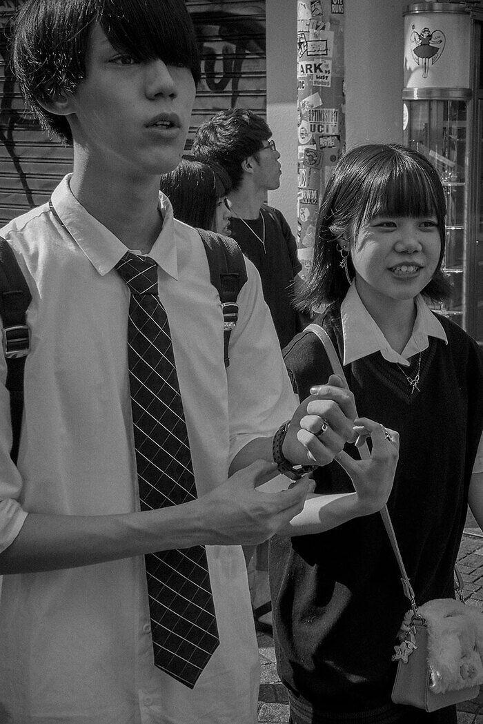 Adolescentes Japón