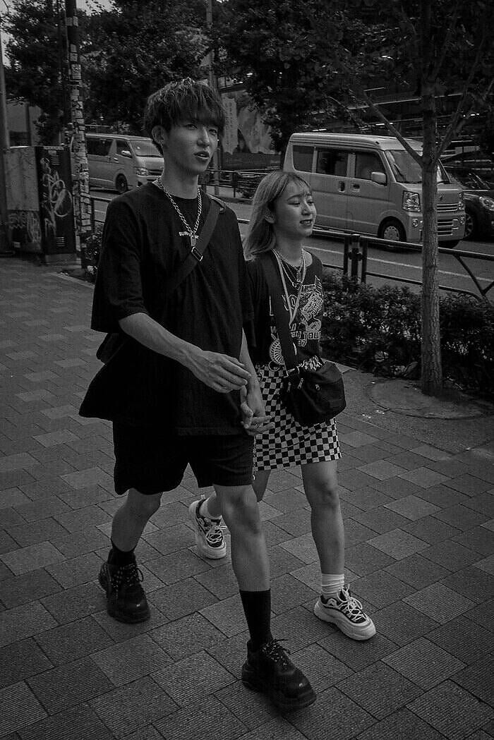 Street style Japón
