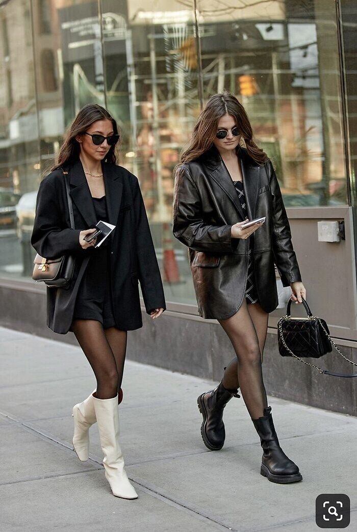 Chunky boots style