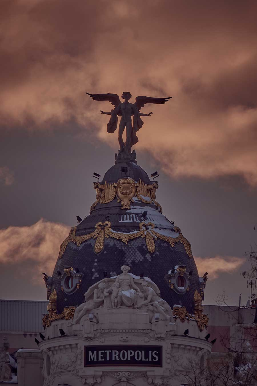 Nevada en Madrid por Jose Luis Tabueña
