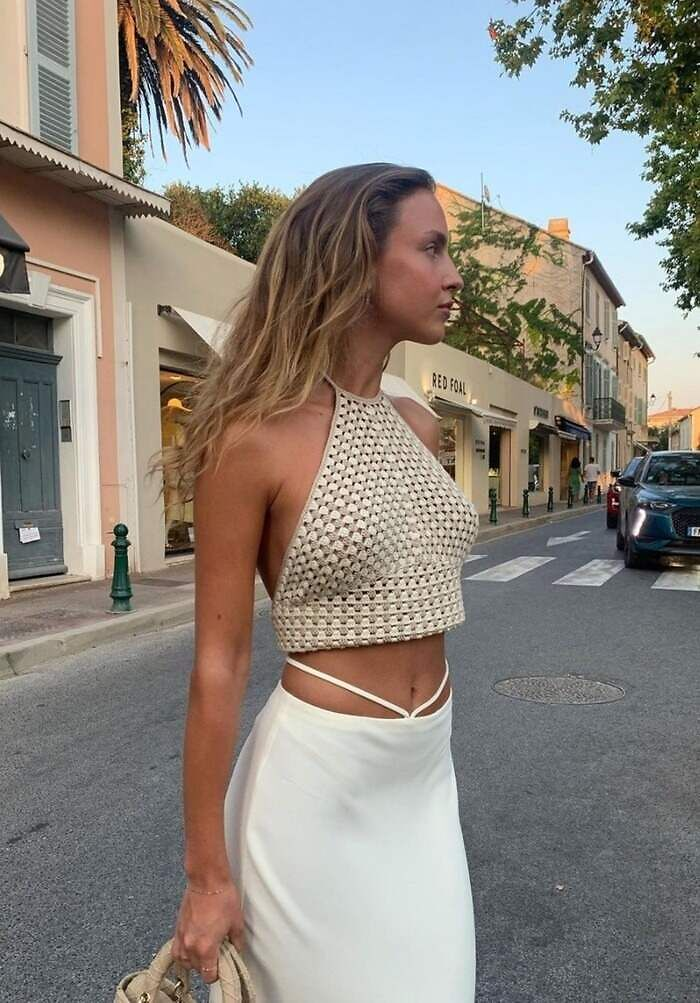 Midriff flossing moda primavera 2021