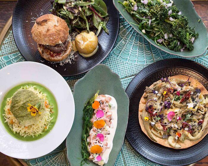 Restaurante sano y rico